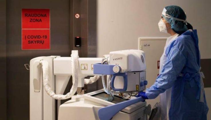 Radiologų darbas pandemijos laikotarpiu – taip pat priešakinėse linijose