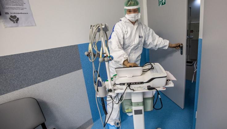 Santaros žinios:  COVID-19 pacientų skaičius Vilniaus regione iš lėto auga
