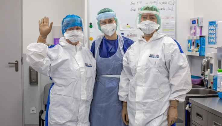 Tarptautinę slaugytojo dieną kalba Santaros klinikų slaugytojai