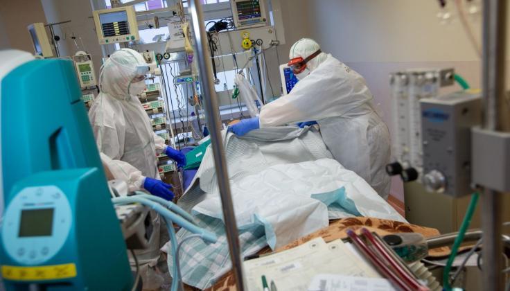 Santaros žinios: įrengiamos naujos reanimacijos vietos sunkiems pacientams