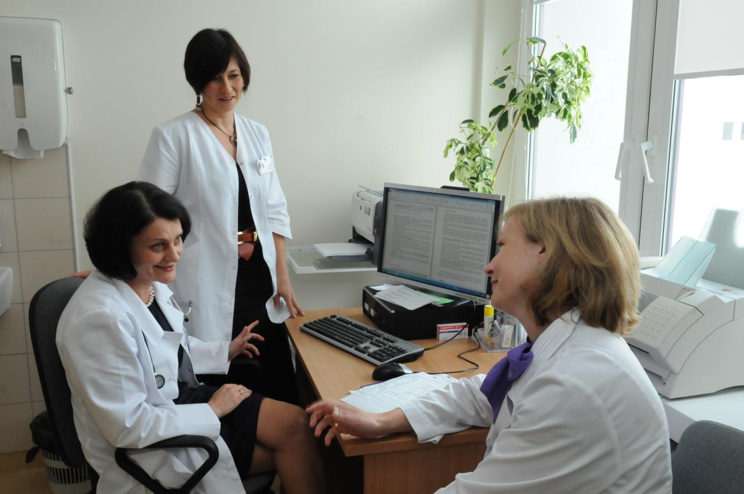 Kovoje su onkologine liga - visa reikalinga medicinos pagalba Klaipėdos universitetinėje ligoninėje